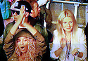 Glastonbury Festival on the BBC. Gwyneth Paltrow, Beyonce and Jay-Z watch Coldplay performance