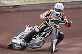 Heat 6: Peter Karlsson of Wolves - Lakeside Hammers vs Wolverhampton Wolves - Elite League Speedway at Arena Essex Raceway - 16/05/11 - MANDATORY CREDIT: Gavin Ellis/TGSPHOTO - Self billing applies where appropriate - Tel: 0845 094 6026