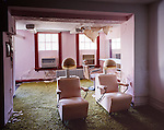 Hairdressing Salon of the Abandoned Buck Hill Falls Inn.