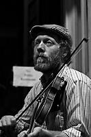 Street musicians, Frenchmen Street, French Quarter, New Orleans