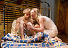African Gothic <br /> by Reza de Wet <br /> co-directed by Roger Mortimer and Deborah Edgington <br /> at Park Theatre, London, Great Britain <br /> press photocall <br /> 5th January 2016 <br /> <br /> Janna Fox <br /> <br /> Oliver Gomm<br /> <br /> <br /> <br /> <br /> Photograph by Elliott Franks <br /> Image licensed to Elliott Franks Photography Services