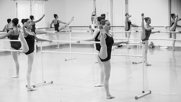 Master Class with Visiting Instructor Shannon Volk Ludlum, Cary Ballet Conservatory, 5 May 2014