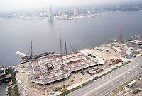 1982 August 12..Redevelopment.Downtown South (R-9)..WATERSIDE.CONSTRUCTION PROGRESS...NEG#.NRHA#..