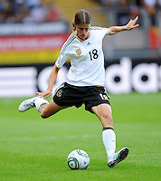 Kerstin Garefrekes of team Germany during the FIFA Women's World Cup at the FIFA Stadium in Frankfurt, Germany on June 30th, 2011.