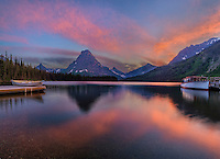 Two Medicine Lake, Glacier National Park, MT.