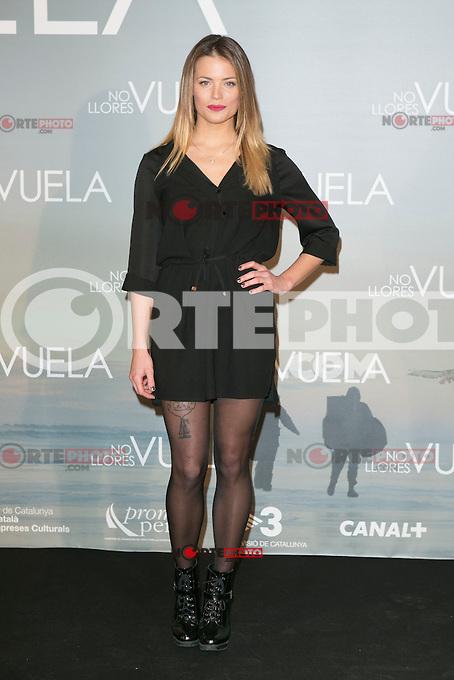 Alison Eckman attends Claudia&acute;s Llosa &quot;No Llores Vuela&quot; movie premiere at Callao Cinema, Madrid,  Spain. January 21, 2015.(ALTERPHOTOS/)Carlos Dafonte) /NortePhoto<br /> NortePhoto.com