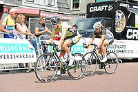 WIELRENNEN: SURHUISERVEEN: 26-07-2016, Profronde dames 2016, Winnares Ilona Hoeksma uit Luxwoude, ©foto Martin de Jong