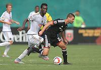 Washington, DC - Sunday, July, 26 2015: DC United defeated the Philadelphia Union 3-2 in an MLS match at RFK Stadium.