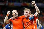 Fussball WM2010 Halbfinale: Uruguay - Niederlande