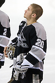 Aaron Jamnick (Providence - 20) - The Northeastern University Huskies defeated the visiting Providence College Friars 5-0 on Saturday, November 20, 2010, at Matthews Arena in Boston, Massachusetts.