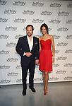 Chris Del Gatto and Veronica Webb Attends Jeffrey Fashion Cares 10th Anniversary New York Fundrasier Hosted by Emmy Rossum Held at the Intrepid, NY 4/2/13