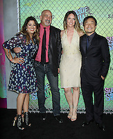 NEW YORK, NY-August 01: Dan Didio. Carla Michelle, Jim Lee at Warner Bros. Pictures & DC, Atlas Entertainment  presents the World Premiere of Suicide Squad  at the Beacon Theatre in New York. NY August 01, 2016. Credit:RW/MediaPunch
