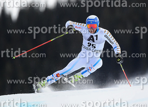 07.12.2014, Birds of Prey Course, Beaver Creek, USA, FIS Weltcup Ski Alpin, Beaver Creek, Herren, Riesenslalom, 1. Lauf, im Bild Andre Myhrer (SWE) // Andre Myhrer of Sweden in actionduring the 1st run of men's Giant Slalom of FIS Ski World Cup at the Birds of Prey Course in Beaver Creek, United States on 2014/12/07. EXPA Pictures © 2014, PhotoCredit: EXPA/ Erich Spiess