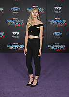 """HOLLYWOOD, CA - April 19: Emma Ishta, At Premiere Of Disney And Marvel's """"Guardians Of The Galaxy Vol. 2"""" At The Dolby Theatre  In California on April 19, 2017. Credit: FS/MediaPunch"""