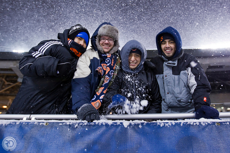 Diego &amp; Friends<br /> New England Patriots @ Chicago Bears<br /> December 12, 2010<br /> Soldier Field<br /> Chicago, IL <br /> <br /> Photograph &copy; Ross Dettman