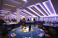 A general view of the hospitality set-up in the Spirit of Rugby, prior to the match. The Clash, Aviva Premiership match, between Bath Rugby and Leicester Tigers on April 8, 2017 at Twickenham Stadium in London, England. Photo by: Rogan Thomson / JMP for Onside Images