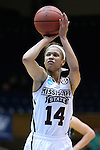20 March 2015: Mississippi State's Kendra Grant. The Mississippi State University Bulldogs played the Tulane University Green Wave at Cameron Indoor Stadium in Durham, North Carolina in a 2014-15 NCAA Division I Women's Basketball Tournament first round game.