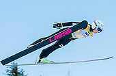 TAKANASHI Sara of Japan competes during 11th Women FIS Ski Jumping World Cup competition in Planica replacing Ljubno  on January 25, 2014 at HS95, Planica, Slovenia. Photo by Vid Ponikvar / Sportida