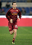 Calcio, Serie A: AS Roma vs Torino. Roma, stadio Olimpico, 19 novembre 2012..AS Roma midfielder Miralem Pjanic, of Bosnia, warms up prior to the start of the Italian Serie A football match between AS Roma and Torino at Rome's Olympic stadium, 19 November 2012..UPDATE IMAGES PRESS/Riccardo De Luca