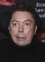 "WEST HOLLYWOOD, CA - OCTOBER 13, 2016:  Tim Curry at the red carpet premiere of Fox's ""The Rock Horror Picture Show: Lets Do the Time Warp Again"" at The Roxy on October 13, 2016 in West Hollywood, California. Credit: mpi991/MediaPunch"