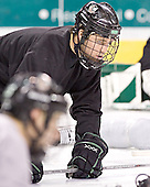 Chris Porter - The University of North Dakota Fighting Sioux took part in the morning skate on Saturday, December 10, 2005, at Ralph Engelstad Arena in Grand Forks, North Dakota.