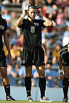 27 September 2009: Wake Forest's Kaley Fountain. The University of North Carolina Tar Heels defeated the Wake Forest University Demon Deacons 4-0 at Fetzer Field in Chapel Hill, North Carolina in an NCAA Division I Women's college soccer game.
