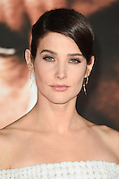LONDON, UK. October 20, 2016: Cobie Smulders at the premiere of &quot;Jack Reacher: Never Go Back&quot; at the Cineworld Empire Leicester Square, London.<br /> Picture: Steve Vas/Featureflash/SilverHub 0208 004 5359/ 07711 972644 Editors@silverhubmedia.com