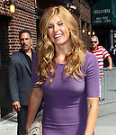 """Celebrities visit """"Late Show with David Letterman"""" New York, Ny July 27, 2011"""