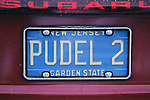 Pudel License Plate