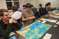20121201  Honors College Class, Ancient Warfare Gaming