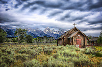 Teton Church - Wyoming - Grand Teton NP
