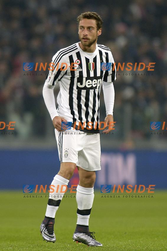 Claudio Marchisio Juventus,<br /> Torino 27-01-2016, Juventus Stadium, Football Calcio 2015/2016 Coppa Italia, Juventus - Inter, Foto Filippo Alfero/Insidefoto