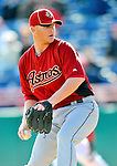 4 March 2012: Houston Astros' pitcher David Carpenter in action against the Washington Nationals at Space Coast Stadium in Viera, Florida. The Astros defeated the Nationals 10-2 in Grapefruit League action. Mandatory Credit: Ed Wolfstein Photo