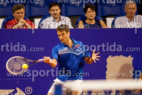Tommy Robredo (ESP) during a tennis match against the Andreas Seppi (ITA) in semi-final of singles at 24. ATP Vegeta Croatia Open 2013, on July 27, 2013, in Umag, Croatia. (Photo by Urban Urbanc / Sportida.com)