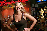Mixologist at Brewsky's Kim Drinko and her signature drink Drinko Juice.(Jodi Miller/Alive)