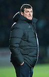 St Johnstone v Rangers&hellip;28.12.16     McDiarmid Park    SPFL<br />Saints boss Tommy Wright<br />Picture by Graeme Hart.<br />Copyright Perthshire Picture Agency<br />Tel: 01738 623350  Mobile: 07990 594431