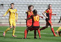 2014.04.05 U19 Belgium - Ukraine