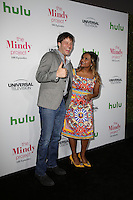 WEST HOLLYWOOD, CA - SEPTEMBER 09: Mindy Kaling, Ike Barinholtz attends The Mindy Project 100th Episode Party at E.P. & L.P. on September 9, 2016 in West Hollywood, California. (Credit: Parisa Afsahi/MediaPunch).