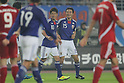 (L to R) Shinji Kagawa, Yasuyuki Konno (JPN), OCTOBER 11, 2011 - Football / Soccer : 2014 FIFA World Cup Asian Qualifiers Third round match between Japan 8-0 Tajikistan at Nagai Stadium in Osaka, Japan. (Photo by Akihiro Sugimoto/AFLO SPORT) [1080]