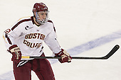 Kevin Hayes (BC - 12) - The Boston College Eagles tied the visiting Yale University Bulldogs 3-3 on Friday, January 4, 2013, at Kelley Rink in Conte Forum in Chestnut Hill, Massachusetts.