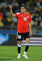 Ahmed Eid of Egypt. USA defeated Egypt 3-0 during the FIFA Confederations Cup at Royal Bafokeng Stadium in Rustenberg, South Africa on June 21, 2009.