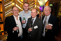 From left are John Murphy of Baker Tilly, Mark Lawson of Santander, Carl Dickinson of Yorkshire Bank and Philip Lyon of Mazars