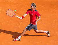 David NALBANDIAN (ARG) against Novak DJOKOVIC (SRB) in the Quarter Finals. Novak Djokovic beat David Nalbandian 6-2 6-3..International Tennis - 2010 ATP World Tour - Masters 1000 - Monte-Carlo Rolex Masters - Monte-Carlo Country Club - Alpes-Maritimes - France..© AMN Images, Barry House, 20-22 Worple Road, London, SW19 4DH.Tel -  + 44 20 8947 0100.Fax - + 44 20 8947 0117