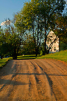 A good example of a country road in late afternoon light.