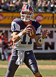 Buffalo Bills quarterback Drew Bledsoe (11) on Sunday, September 19, 2004, in Oakland, California. The Raiders defeated the Bills 13-10.