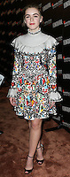 LOS ANGELES, CA, USA - NOVEMBER 09: Kiernan Shipka arrives at the 8th Annual Hamilton Behind The Camera Awards held at The Wilshire Ebell Theatre on November 9, 2014 in Los Angeles, California, United States. (Photo by Xavier Collin/Celebrity Monitor)