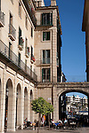 Terrace Cafe in Plaza del Ayuntamiento Square, Alicante
