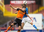 Dundee United v St Johnstone...27.09.14  SPFL<br /> Ryan Dow and Murray Davidson<br /> Picture by Graeme Hart.<br /> Copyright Perthshire Picture Agency<br /> Tel: 01738 623350  Mobile: 07990 594431