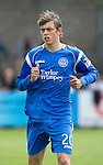 St Johnstone FC.... Season 2010-11.Murray Davidson.Picture by Graeme Hart..Copyright Perthshire Picture Agency.Tel: 01738 623350  Mobile: 07990 594431