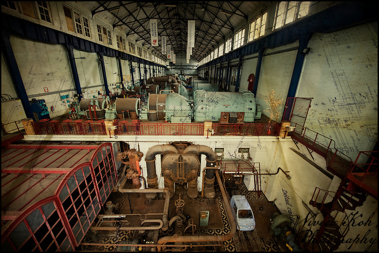 Museum attached to abandoned Belgian powerplant ECVB http://www.vivecakohphotography.co.uk/2011/10/13/the-museum/